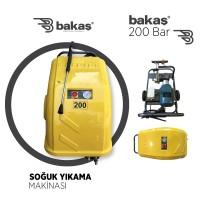 200 Bar Soğuk Yıkama Makinası (İTALYAN POMPA) KAMPANYA