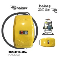 250 Bar Soğuk Yıkama Makinası (İTALYAN POMPA)