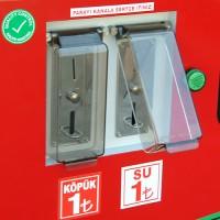 self servis Jetonlu - Paralı Köpük ve Yıkama Makinesi (2 si 1 arada)